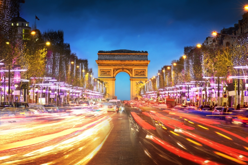 French Translation Services- Arc de Triomphe, Arch of Triumph, Paris, France