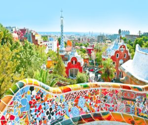 Spanish Translation Services-The famous Park Guell in Barcelona, Spain