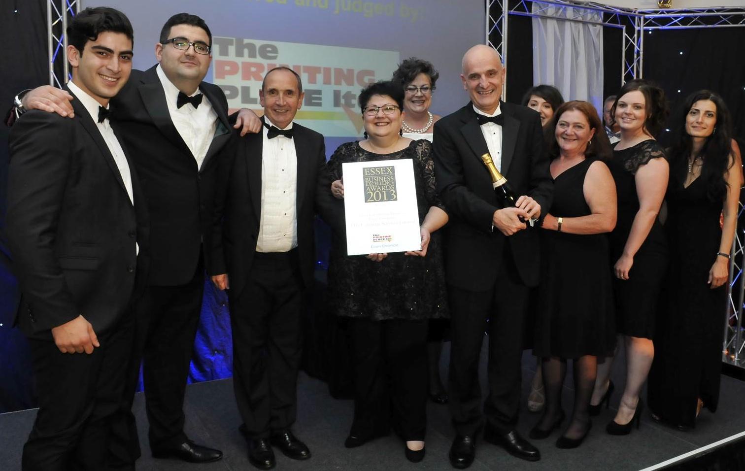 TTC wetranslate wins Essex Business Excellence Award