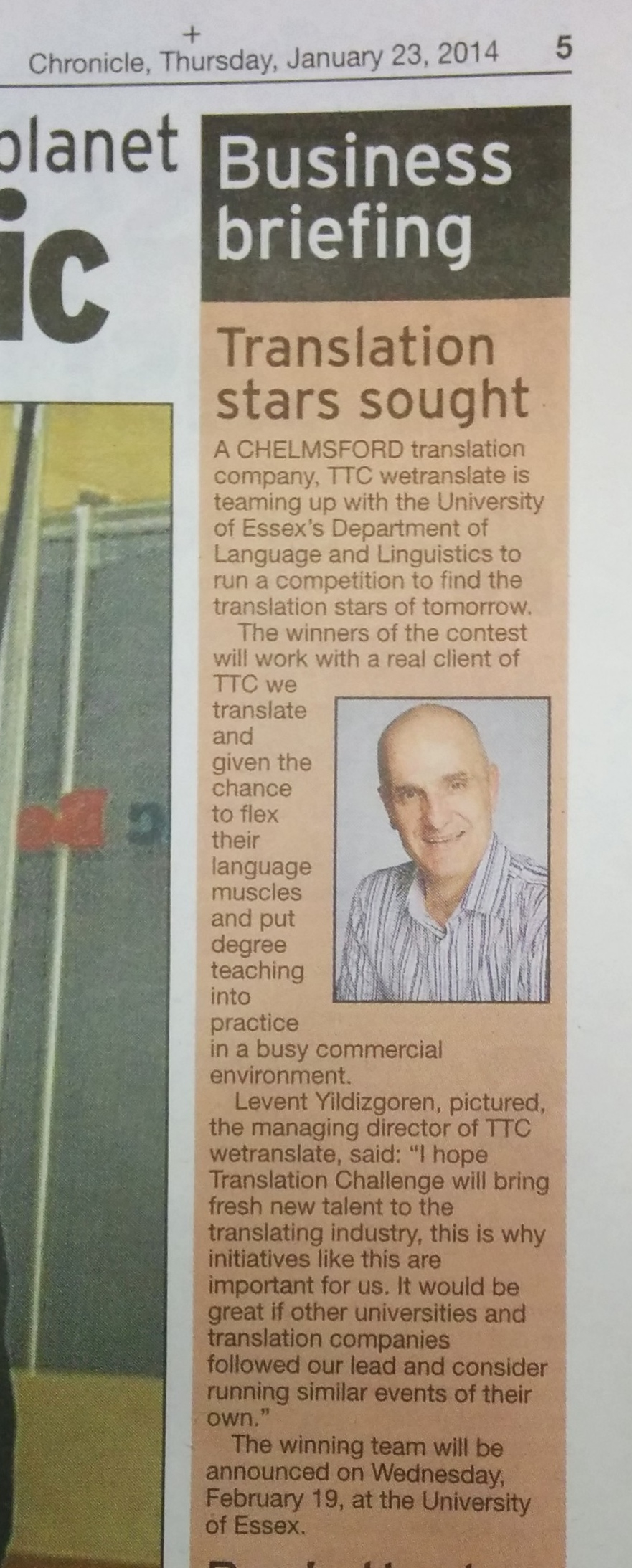 EssexChronicle-trans challenge