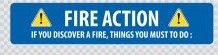 fire action notice