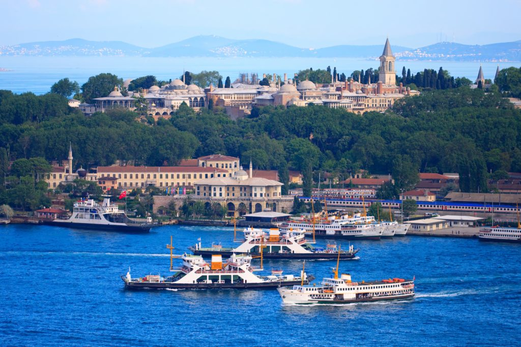 A picture of the Bosphorus - Fun Facts about the Turkish Language