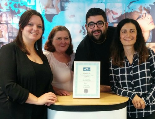 TTC Team comes runner up in translation industry awards