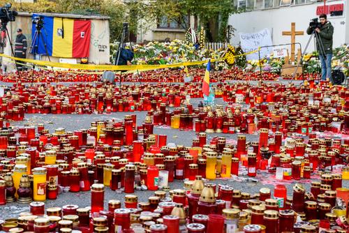 Romanian fire 2015