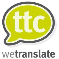 TTC wetranslate logo
