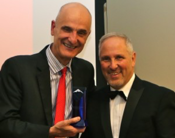 Awards - TTC's Managing Director wins top award for outstanding contribution to the industry