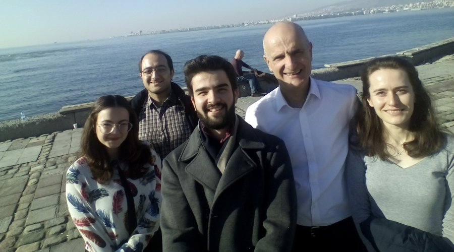 TTC wetranslate Izmir Team and Managing Director Levent Yildizgoren