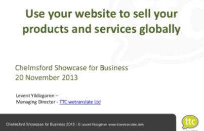 Ürün ve hizmetlerinizi küresel platformda satmak için internet sitenizi kullanın