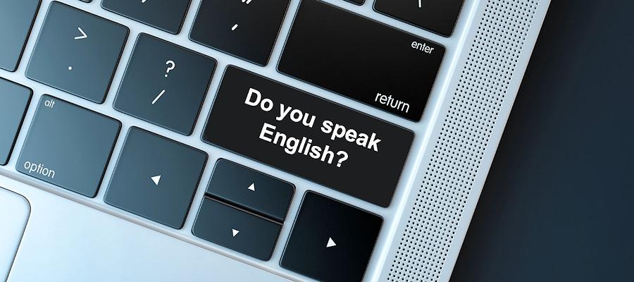 Sprechen vous Inglés?