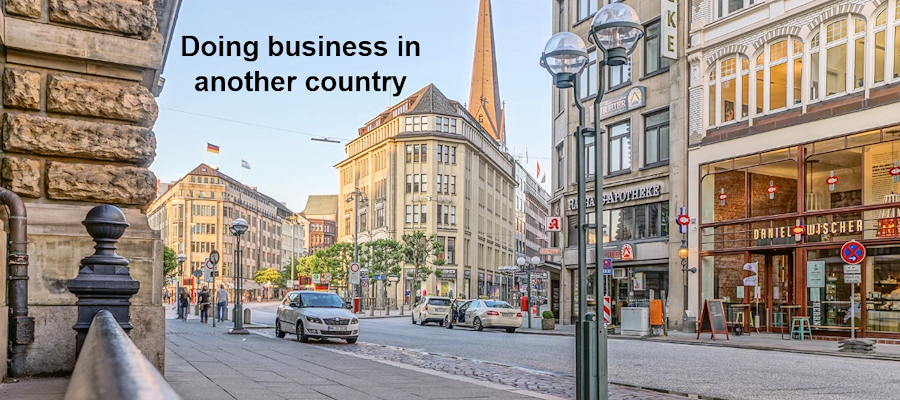 Doing business in another country