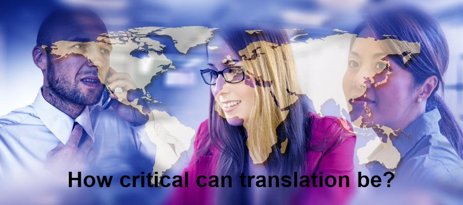 How critical can translation be?