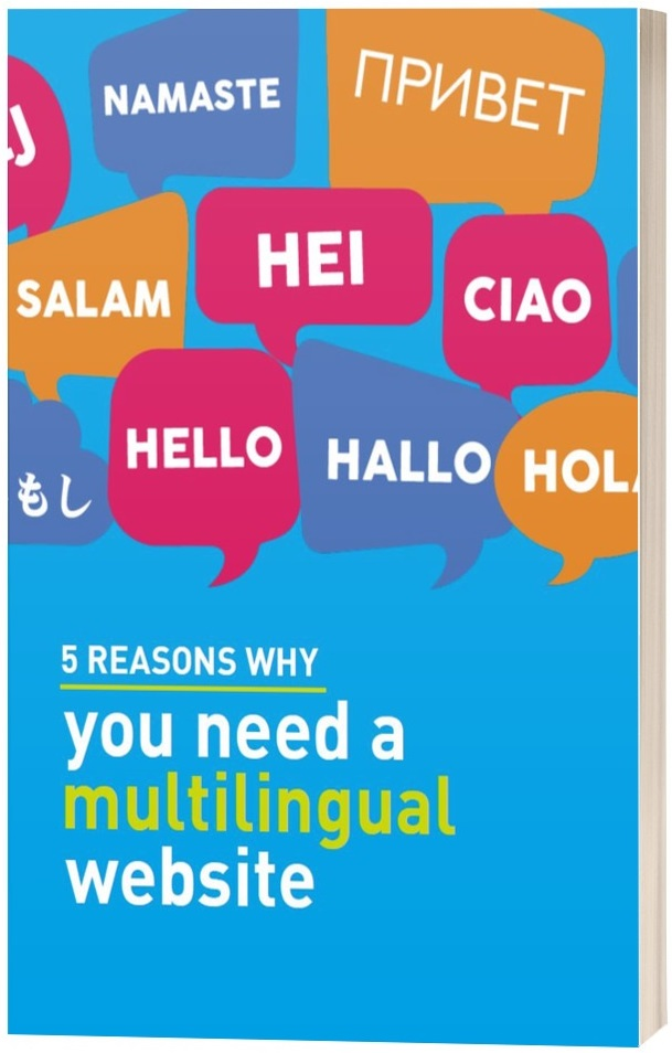 5 reasons why you need a multilingual website cover
