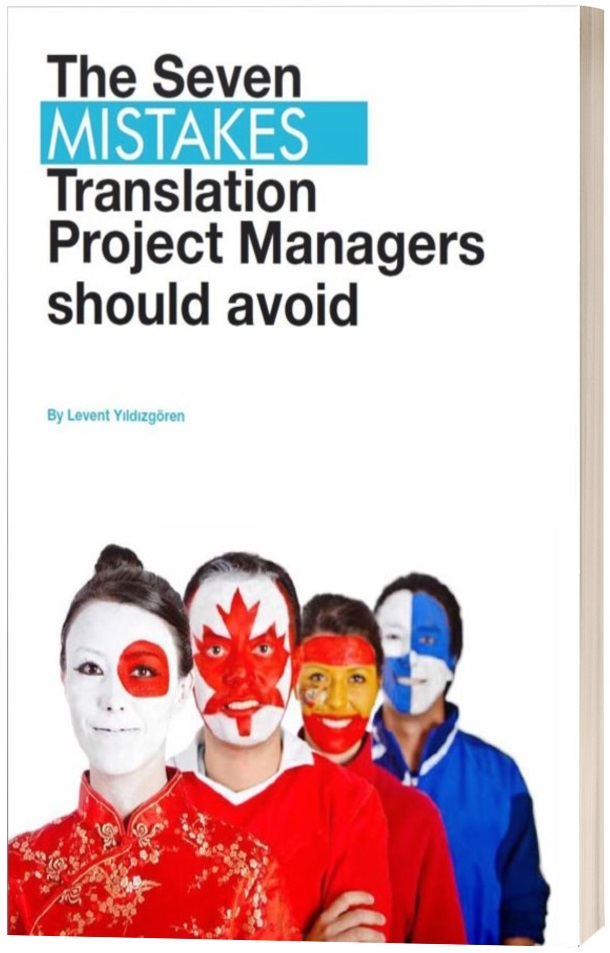 The seven mistakes translation project managers shoud avoid cover